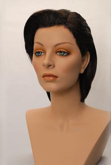 Style 1700 Color Brunette - Female,  Mannequin Head