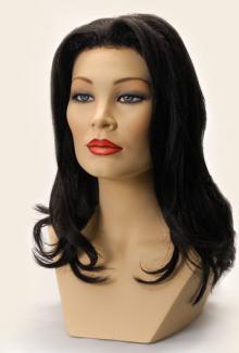 Style 1800 Color Black - Female,  Mannequin Head