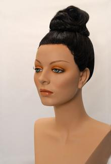 Style 1900 Color Black - Female,  Mannequin Head