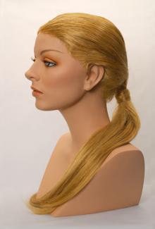 Style 2000 Color Dark Blonde - Female,  Mannequin Head
