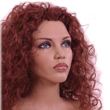 Female Mannequin Heads for sale for wigs and hats in realistic and abstract styles