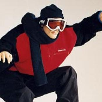 Snowboarder Skier Mannequin Sportsline Collection of Male Mannequins