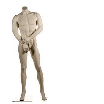 Headless Men's Mannequin -Citizen Red Line Collection of Male Mannequins