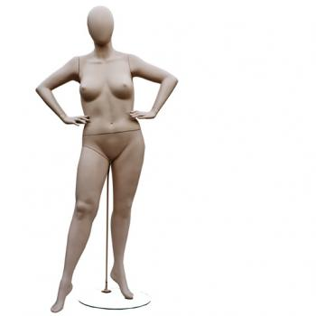 Plus Size Mannequin Female from Vaudeville Mannequins
