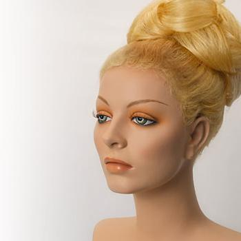 Custom made mannequin wigs, including female display mannequin wigs and male display mannequin wigs